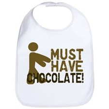 Must Have CHOCOLATE! Zombie Bib
