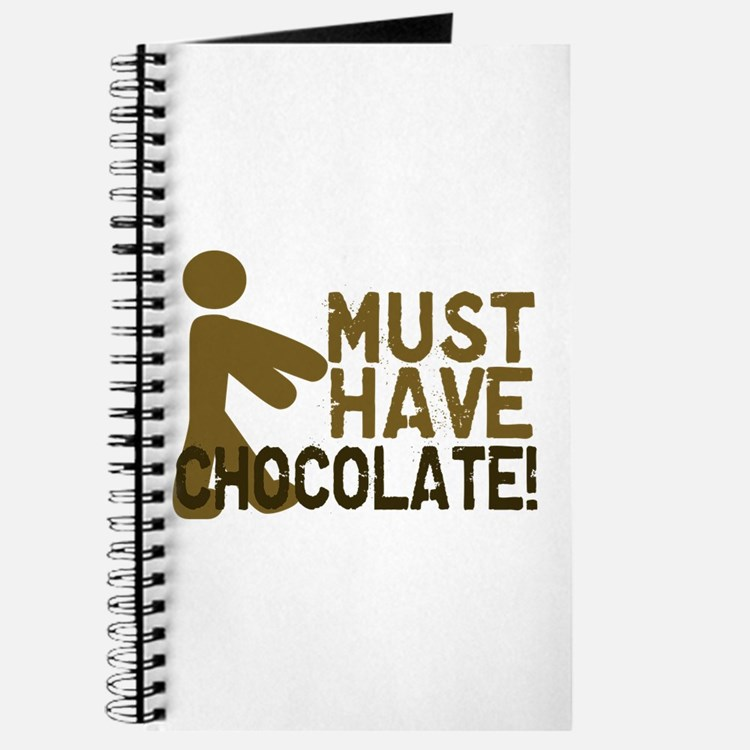 Must Have CHOCOLATE! Zombie Journal