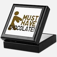Must Have CHOCOLATE! Zombie Keepsake Box