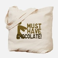 Must Have CHOCOLATE! Zombie Tote Bag
