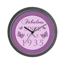 Fabulous Since 1935 Wall Clock