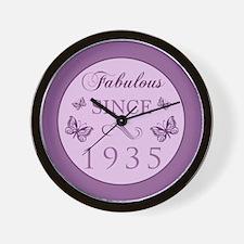 Fabulous Since 1935 Wall Clock