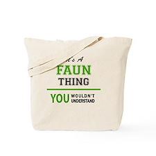 Unique Faun Tote Bag