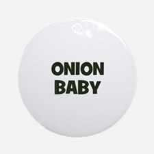 onion baby Ornament (Round)