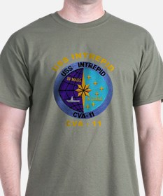 USS Intrepid CVA-11 T-Shirt