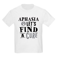 Aphasia Lets Find A Cure T-Shirt