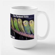 """""""Parakeet Humor #7"""" Large Mug"""