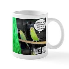 """""""Parakeet Humor #3"""" Mug"""