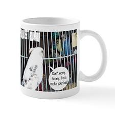 """""""Parakeet Humor #6"""" Mug"""