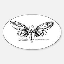 Cicada Illustration Decal