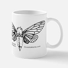 Cicada Illustration Mugs