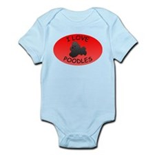 Poodles Infant Bodysuit