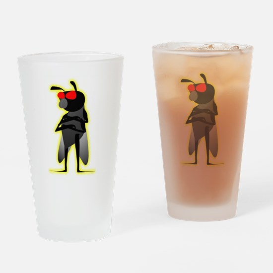 Bug of Mystery Drinking Glass