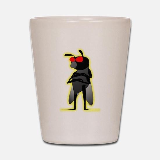Bug of Mystery Shot Glass