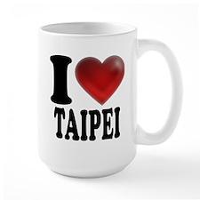 I Heart Taipei Mugs