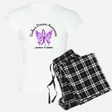 Crohn's Disease Butterfly 6 Pajamas