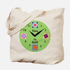 Time to Quilt Tote Bag