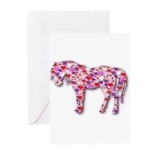 Unique I love horse riding Greeting Cards (Pk of 20)