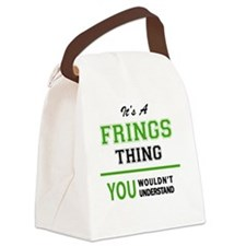 Cute The fringe Canvas Lunch Bag