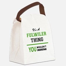 Cute Fulwiler Canvas Lunch Bag