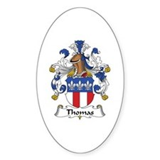 Thomas Oval Decal