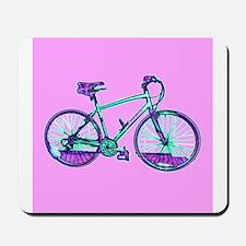 Bike Cycling Bicycle Pink Wondrous Velo Mousepad