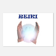 Reiki Hands Postcards (Package of 8)