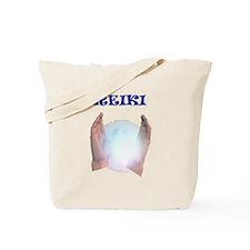 Reiki Hands Tote Bag