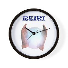 Reiki Hands Wall Clock