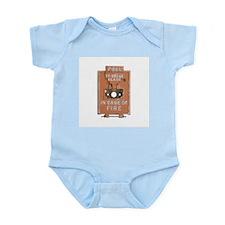 Fire Alarm Infant Bodysuit