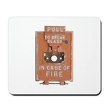 Fire Alarm Mousepad