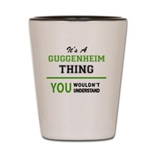 Unique Guggenheim Shot Glass