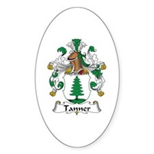 Tanner Oval Decal