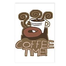 COFFEE TIME! Coffee Break Postcards (Package of 8)