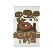 COFFEE TIME! Coffee Break Rectangle Magnet
