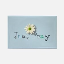 Just Pray Rectangle Magnet (100 pack)