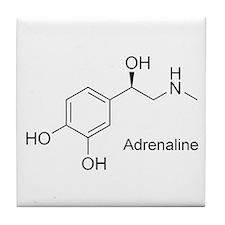 Adrenaline Molecule Tile Coaster