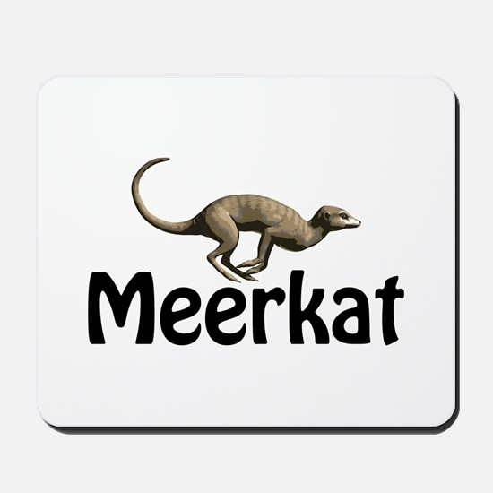 Meerkat Graphic Mousepad