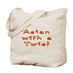 Asian Twist Tote Bag