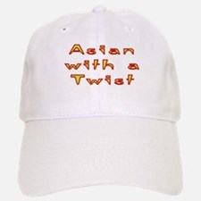 Asian Twist Baseball Baseball Cap