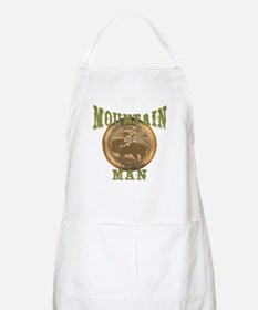 Mountain man gifts and t-shir BBQ Apron