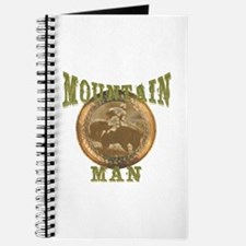 Mountain man gifts and t-shir Journal