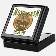 Mountain man gifts and t-shir Keepsake Box