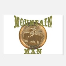 Mountain man gifts and t-shir Postcards (Package o