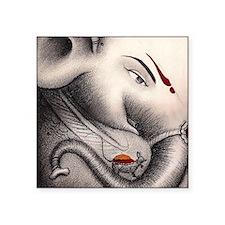 """Ganesha  Square Sticker 3"""" x 3"""""""
