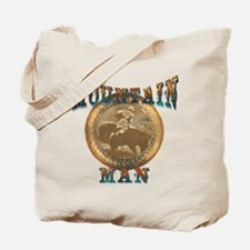 The Mountain Man or trappers, Tote Bag