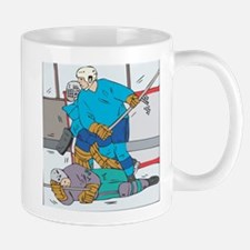 Hockey: Player Down Mug