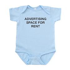 Advertising Space For Rent Infant Bodysuit