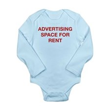 Advertising Space For Rent Long Sleeve Infant Body