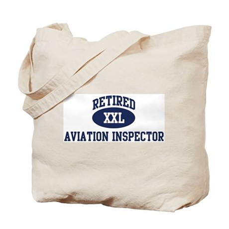 Retired Aviation Inspector Tote Bag